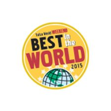 Voted Best in the World 2015